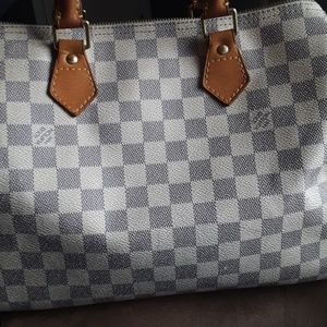 Handbags - AUTHENTIC LV SPEEDY AZUR 30